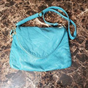 Handbags - Blue unbranded fold over cross body purse